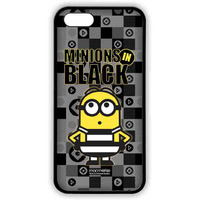 Minions In Black - Lite Case for iPhone SE
