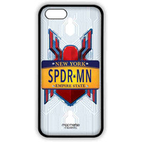 Spiderman Name Plate - Lite Case for iPhone SE