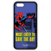 Spiderman Saves the Day - Lite Case for iPhone SE