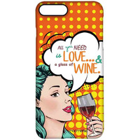 Miss Wine - Pro Case for iPhone 7 Plus