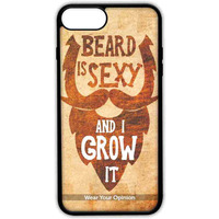 Beard is Sexy - Lite Case for iPhone 7 Plus
