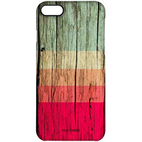 Wood Stripes Fuschia - Pro Case for iPhone 7