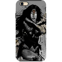 Sketched Wonder Woman - Tough Case for iPhone 7
