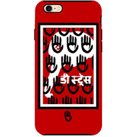 KR Red Black Elephant - Tough Case for iPhone 7
