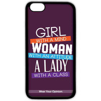 Girl Woman Lady - Lite Case for iPhone 7