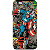 Comic Captain America - Tough Case for iPhone 6S Plus