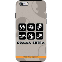 Commasutra - Tough Case for iPhone 6S Plus