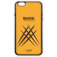 Minimalistic Wolverine - Lite Case for iPhone 6S Plus