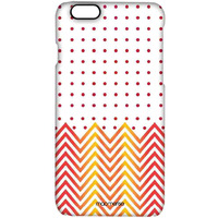 Polka Cheveron - Pro Case for iPhone 6S