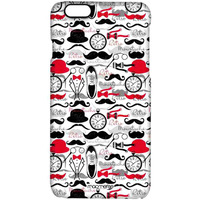 Retro Moustache - Pro Case for iPhone 6S
