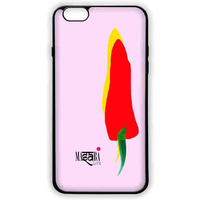 Masaba Yellow Red Chilli - Lite Case for iPhone 6 Plus