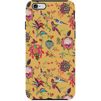 Payal Singhal Chidiya Mustard - Tough Case for iPhone 6 Plus