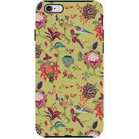 Payal Singhal Chidiya Olive - Tough Case for iPhone 6 Plus
