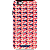 Payal Singhal Coral Navy - Tough Case for iPhone 6 Plus