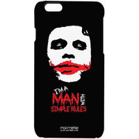 Man With Simple Rules - Pro Case for iPhone 6