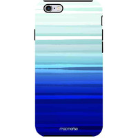 Blue Brush Strokes - Tough Case for iPhone 6