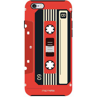 Casette Red - Tough Case for iPhone 6