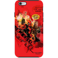 Deadpool Splash - Tough Case for iPhone 6