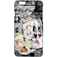 Mickey Newspaper Art - Pro Case for iPhone 6