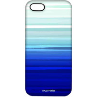 Blue Brush Strokes - Pro Case for iPhone 5/5S