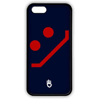 KR Navy Red Smiley - Lite Case for iPhone 5/5S