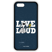 Live Loud Blue  - Lite Case for iPhone 5/5S