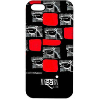 Masaba Red Line Horses - Sublime Case for iPhone 4/4S