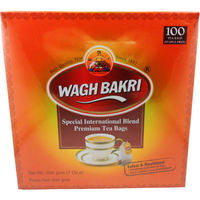 Wagh Bakri Special International Blend Premium (100 Tea Bags) - 200Gm