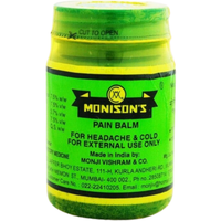 Monison Pain Balm For Headache, Cold - 100 Gm