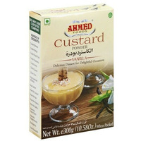 Ahmed Custard Powder Vanilla Flavor - 300 Gm
