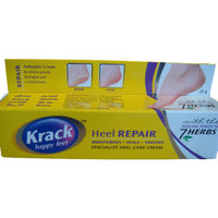 2 Pack Krack Happy Feet Cracked Heel Repair Cream - 25 Gm