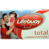 (4 Bars) Lifebuoy Soap Germ Protection - 125 Gm Each