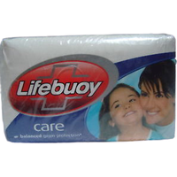 Lifebuoy Care Soap Bars (4 Pack) - 130 Gm Each