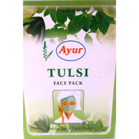 Ayur Tulsi Face Pack Powder Anti Bacterial Cleanser - 100 g