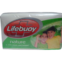 (4 Pack) Lifebuoy Nature Soap Bars - 130 Gm Each