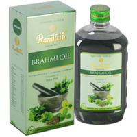 6 Bottles! Ramtirth 200Ml Brahmi Hair Oil 22 Exotic Herbs Strong Roots H...