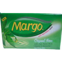 (12 Bars) Margo Original Neem Oil Soap - 100 Gm Each