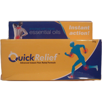 Quick Pain Relief Formula W/Essential Oils For Body Pains/Cramps