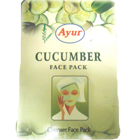 2 Pack Ayur Cucumber Face Pack Powder - 100 g