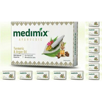 Medimix Ayurvedic Turmeric Argan Oil Soap (40 Bars) - 125 Gm Each