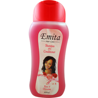 Emita Hair Care Shampoo + Conditioner With Rose & Glycerine - 400 ml