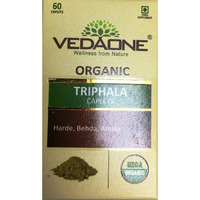 Vedaone Usda Organic Triphala 60 Caplets Capsules Usa Seller Fast Shipping