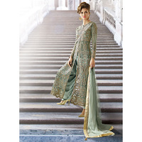 Ethnic Grey Net Dhot ...