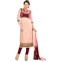 Beige Pure Cotton Ca ...