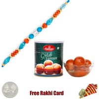 1 Rakhi with Haldira ...