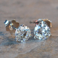 2.0CT Moissanite 925 ...