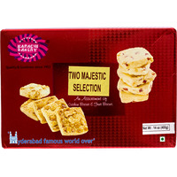 Karachi Fruit and Cashew Double delight Biscuits Pack of 400 g (14.10 oz)