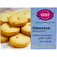 Karachi Osmania Biscuits Pack of 400 g (14.10 oz)