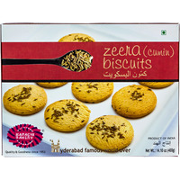 Karachi Zeera Biscuits Pack of 400 g (14.10 oz)