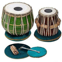 Green-Painted Tabla  ...